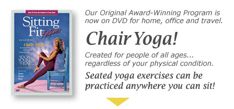 Gentle Yoga in The Chair Highly-acclaimed Chair Yoga